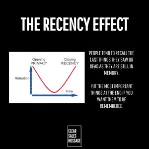 TheRecencyEffect