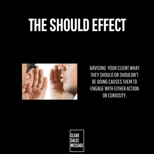 THE SHOULD EFFECT