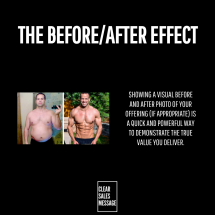 THE BEFORE _ AFTER EFFECT
