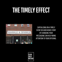 the timely effect