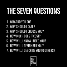 THE SEVEN QUESTIONS